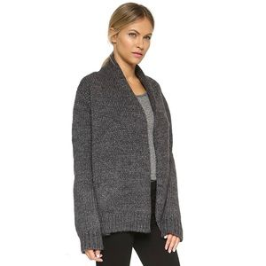 Joie Heather Charcoal Brunone Cardigan
